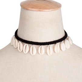 Ericdress White Shell Decorated Necklace