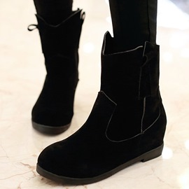 Ericdress Delicate Round Toe Suede Ankle Boots
