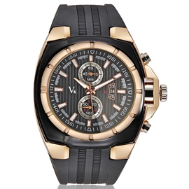 Ericdress Silicone Band Men's Casual Watch