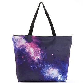 Ericdress Original Starry Sky Print Tote Bag
