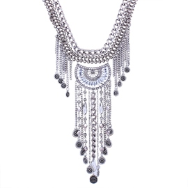 Ericdress Alloy Tassel Necklace