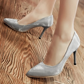 Ericdress Pretty Satin Point Toe Pumps