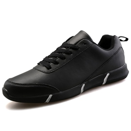 Ericdress PU Plain Round Toe Lace-Up Men's Casual Shoes