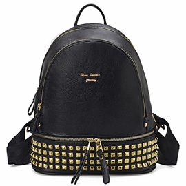 Ericdress Cool Rivets Decorated Travel Backpack