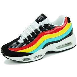 Ericdress Bright Color Block Stripe Thread Lace-Up Men's Sneakers
