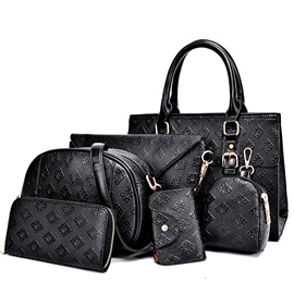 Ericdress Stylish Quilted Embossed Handbags(6 Bags)