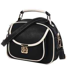 Ericdress Lock Decorated Crossbody Bag