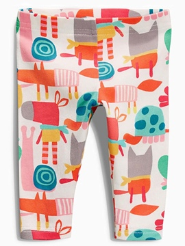 Ericdress Animal Mixed-Print Printing Leggings Girls Bottoms