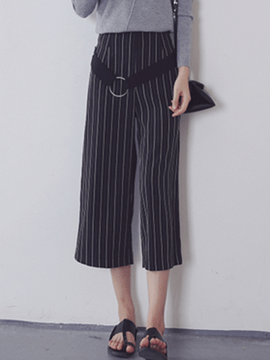 Ericdress Unique Stripe Pants