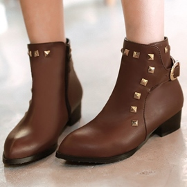 Ericdress Charming Rivets Ankle Boots