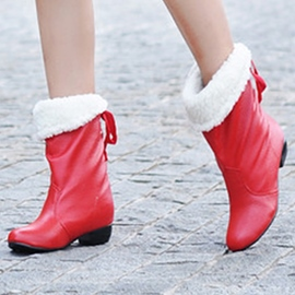 Ericdress Pretty Short Floss Ankle Boots