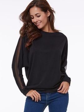 Ericdress Round Neck Casual T-Shirt