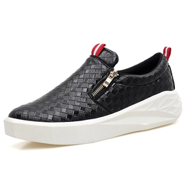 Ericdress Cool Zipper Thread Slip-On Men's Casual Shoes