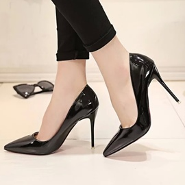 Ericdress Sexy Patent Leather Point Toe Pumps