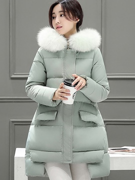Ericdress Straight Swallow Tail Casual Coat