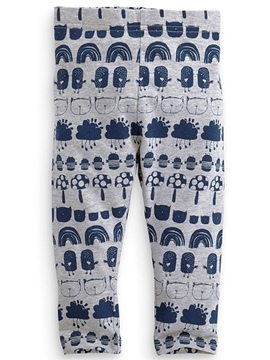 Ericdress Cycle Cartoon Printed Leggings Girls Bottoms