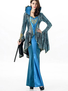 Ericdress Patchwork Noble Queen Cosplay Halloween Costume