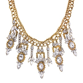 Ericdress Rhinestone Inlaid Short Necklace