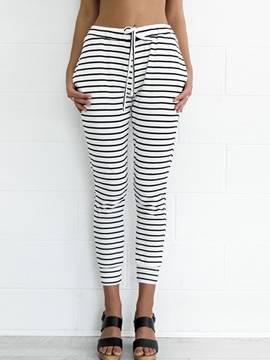 Ericdress Fashion Stripe Casual Pants