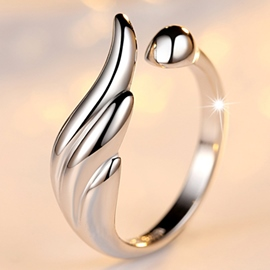 Ericdress Personality Wings Opening Ring