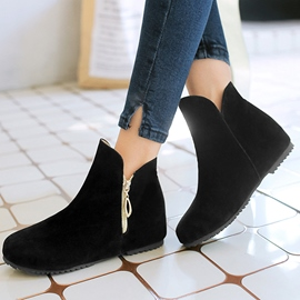 Ericdress Lovely Side Zip Ankle Booties