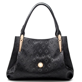Ericdress Big Capacity Embossed Handbag