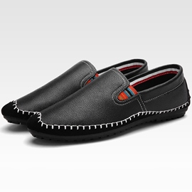 Ericdress Solid Color Thread Slip-On Men's Casual Shoes