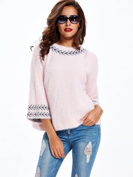 Ericdress Casual Loose Trumpet Knitwear