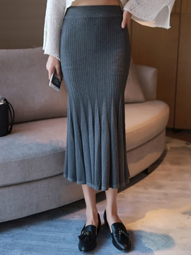 Ericdress Elegant Mermaid Knitwear Skirt