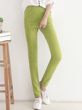 Ericdress Simple Straight Casual Pants
