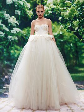 Ericdress Beautiful Sweetheart A Line Color Wedding Dress