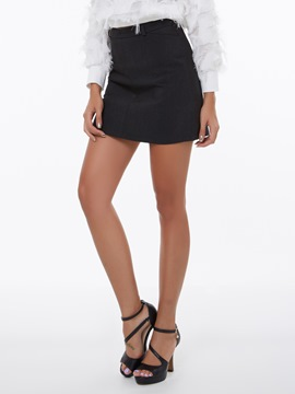Ericdress Simple Mini Skirt