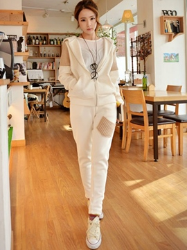 Ericdress Fashion Hoodie Suit