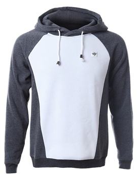 Ericdress Color Block Pullover Vogue Men's Hoodie