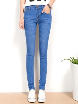 Ericdress Fashion Straight Jeans