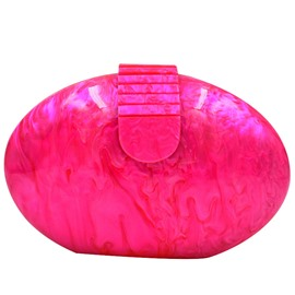 Ericdress Oval Pearlescent Evening Clutch