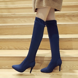 Ericdress Chic Point Toe Over Knee High Knight Boots