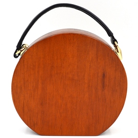 Ericdress Personality Semi-Circle Wood Evening Clutch