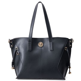 Ericdress Soft Belt Decorated Commute Tote Bag