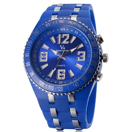 Ericdress Simple Silicone Sport Watch For Men