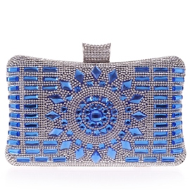 Ericdress Geometric Diamante Evening Clutch