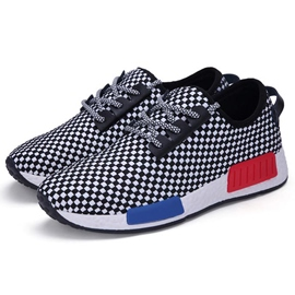 Ericdress Chic Mesh Color Block Lace-Up Men's Sneakers