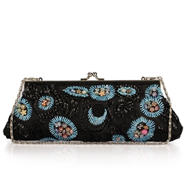 Ericdress Vogue Beaded Embroidery Evening Clutch
