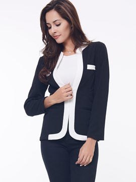 Cool Slim Split Joint Blazer