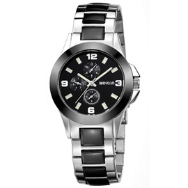 Ericdress Luminous Design Steel Band Watch for Men