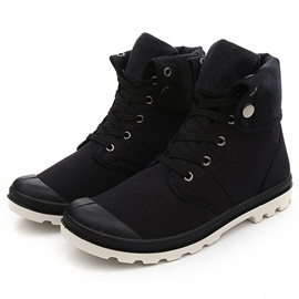 Ericdress Denim High Cut Lace up Men's Boots