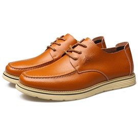 Ericdress Chic PU Lace-Up Men's Casual Shoes