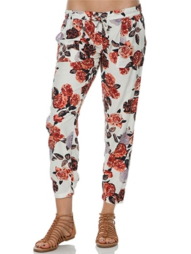Ericdress Fashion Floral Print Pants