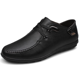 Ericdress Solid Color Slip on Men's Oxfords
