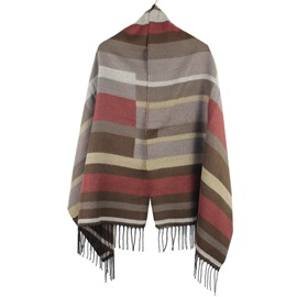 Ericdress Colorful Stripe Designed Scarf/Shawl